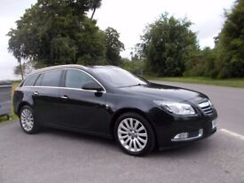 2010 10 VAUXHALL INSIGNIA 2.0I TURBO 4X4 ELITE NAV AUTOMATIC 5 DOOR ESTATE CAR