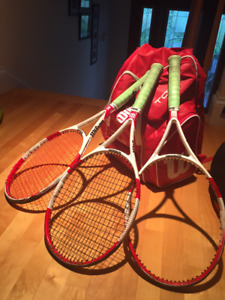 Wilson BLX Six One 95 S (three available)