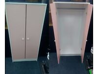 New Children's Wardrobe /Tallboy In either Pink and White or Blue and White
