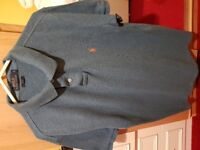 Mens large slim fit ralph lauren polo shirt