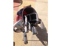 Golf Clubs - Wilson Fat Shaft / Taylor Made 3 wood