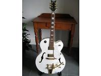 Shine Guitar (Gretsch White Falcon copy)