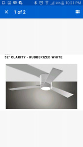 Monte Carlo Ceiling Fan 52 inch brand new save over 50%