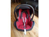 Maxi Cosi Cabriofix baby car seat rear facing