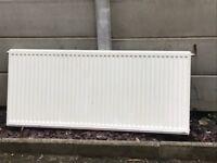 White radiator 145 X 60cm