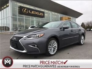 2016 Lexus ES350 EXECUTIVE PACKAGE WITH 8500 KM'S