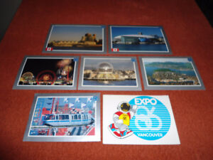 Postcards - Official Expo 86 Collection
