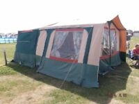 Triango 2002 trailer tent