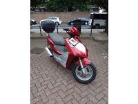 Honda 150 reg as a 125 all gd ride away