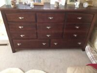 Dark wood sideboard used but lovely item bargain!! No offers collect only from Maidenhead heavy item