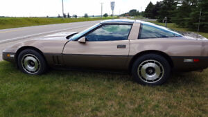 1985 Corvette  -  One owner -  all original