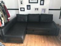 Ikea Leather Sofa Bed