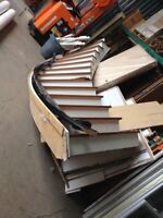 Curved Staircase Fonthill Restore  St. Catharines Ontario Preview