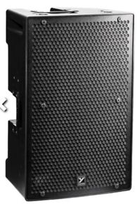 Yorkville PS12s 4,400 watt speakers