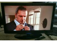 """SAMSUNG 32"""" LCD TV FULL HD BUILT IN FREEVIEW EXCELLENT CONDITION REMOTE CONTROL HDMI FULLY WORKING"""