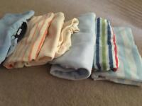 Fleece sleepsuits 0-3 months