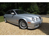 "2007 Jaguar S-TYPE 2.7D V6 auto XS 88K FJSH FULL BODYKIT 18"" ALLOYS 45 MPG XENON"