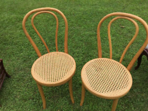 2 Cained Chairs Like New $20.00
