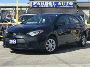 2014 Toyota Corolla *LOW KM*1 OWNER-OFF LEASE*AUTO*XENON LIGHT