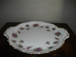 ROYAL ALBERT VIOLETTA FINE BONE CHINA FOR SALE!