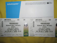 ***P I X I E S*** 2 tickets , Summer Nights ,Kelvingrove Bandstand , Glasgow