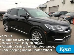 2016 Lincoln MKX Reserve  Certified Pre-Owned, Warranty