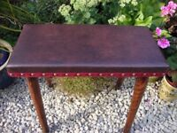Antique,Newly Upholstered Low Stool.