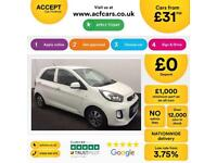 Kia Picanto FROM £31 PER WEEK!