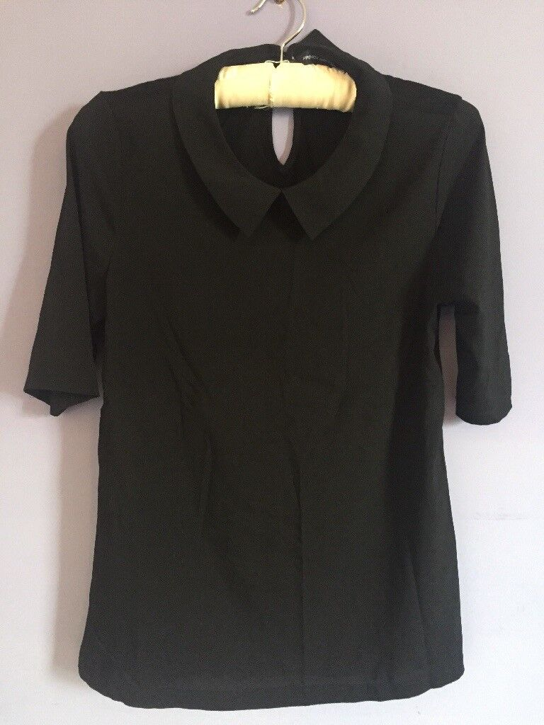 FRENCH CONNECTION Collared blouse. Size S