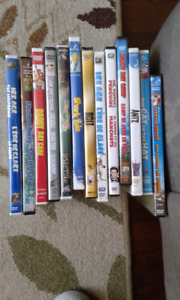 13 DVDs for kids - $9.00