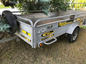 5x10 galvanized trailer for sale or trade