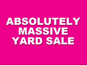 Yard sale of the summer