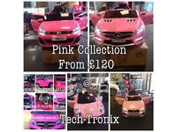 Pink Collection From £120, parental Remote & Self Drive