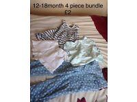 Small bundles 12-18m, 2-3yrs, 3-4yrs.