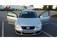 VOLKSWAGEN GOLF GT TDI 2.0L DIESEL SILVER 5DR 2006/2007 ONLY 47K MILES! GREAT CONDITION! ONLY £4700!