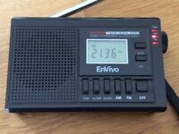 Digital Radio, with Clock
