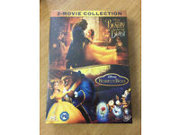 Beauty and the Beast 2 movie collection dvd new and sealed