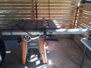 "Ridgid 10"" Table Saw (tablesaw)"