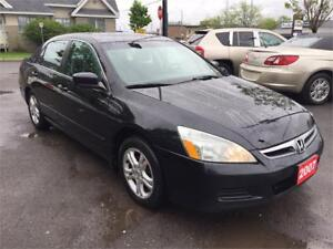 2007 Honda Accord SE Sunroof Sedan