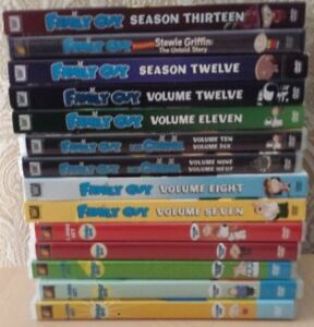 Family Guy Volume/Seasons 1-13 plus bonus DVD