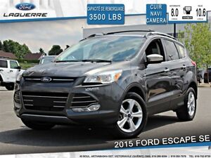 2015 Ford Escape SE**AWD*CUIR*NAVI*CAMERA*CRUISE*A/C**