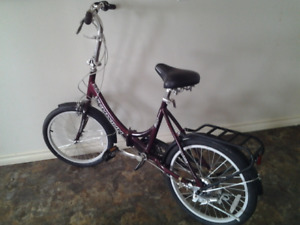 Folding Bike    great for holidays Will accept $100.00