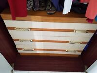 Bedside and matching chest of drawers