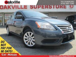 2015 Nissan Sentra 1.8 S | ACCIDENT FREE | BLUETOOTH | LOW KM