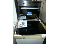 brand new built in indesit oven and ceramic hob
