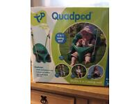 Quadpod 4 in 1 swing seat. £40 from new!