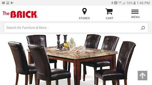 Save $1000 or more Never used Solid, New,  Dining Room Set