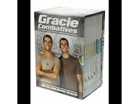 GRACIE GJJ COMBATIVES instructional dvds - postage paypal - bjj brazilian jiu jitsu training