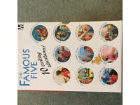 Children's books by Enid Blyton Famous Five 10 books in box set - great condition