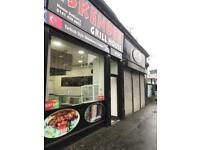 Take away shop to let in paisly road west Glasgow